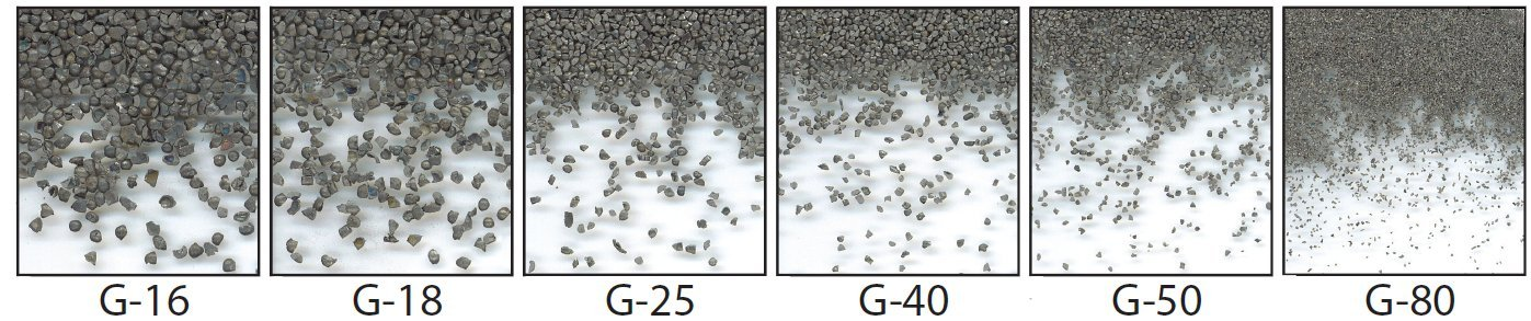 Steel Grit from Metaltec Steel Abrasive